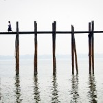 U-Bein Bridge, Mandalay, Myanmar architecture travel photography Jocelyn Voo